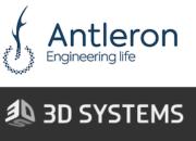 Logo Antleron und 3D Systems