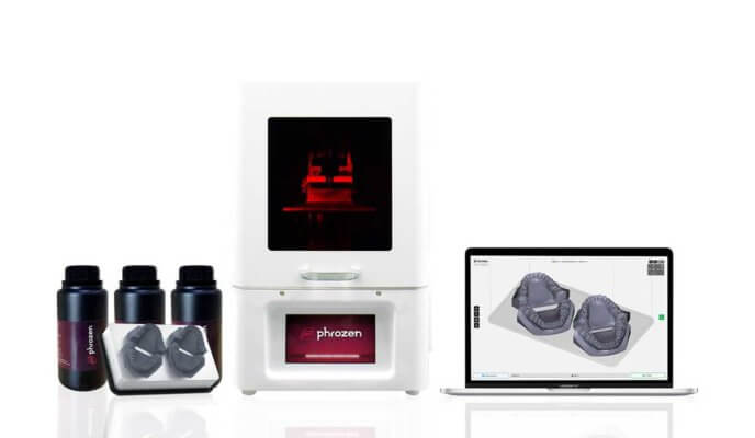 Resin, 3D-Drucker, Display