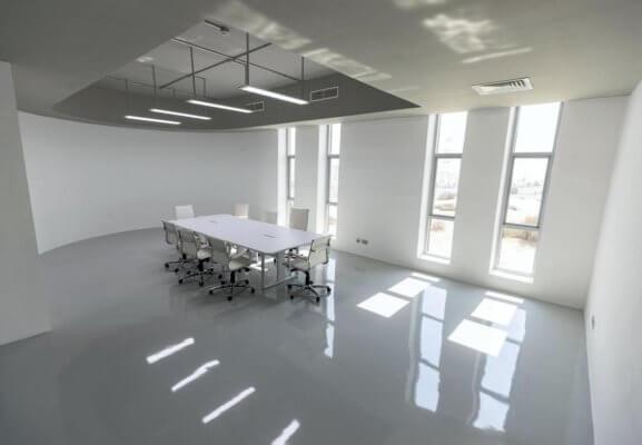 Ansicht der Räume im Gebäude