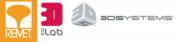 Logo 3D Systems, 3D Lab und Remet