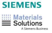 Siemens und Material Solutions Logo