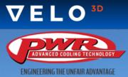 Velo3D und PWR Logo