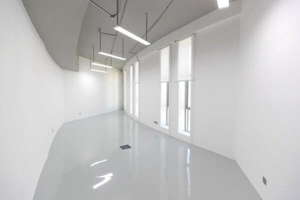 Inneres des 3D-Druckgebäudes in Warsan