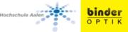 Hochschule Aalen und Binder Optik GmbH Logos