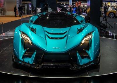 Ajlani Motors auf der International Dubai Motor Show