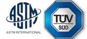 ASTM International und TÜV SÜD Logo