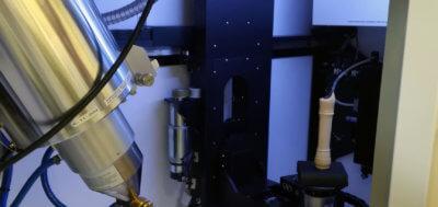 Flöte im 3D-Scanner