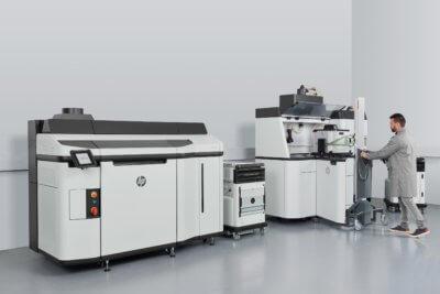 HP Jet Fusion 5200er 3D-Drucker