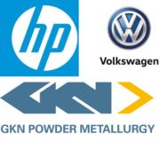 HP, GKN und VW Logo