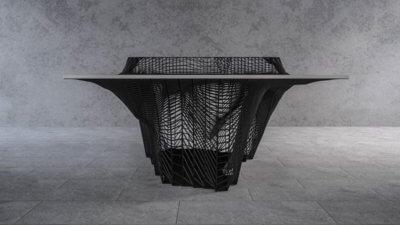 Vorderansicht Tischtennistisch