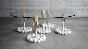 Rocket Table von Stelios Mousarris