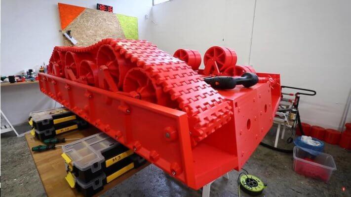 Panzer aus dem 3D-Drucker