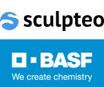 BASF und Sculpteo Logos