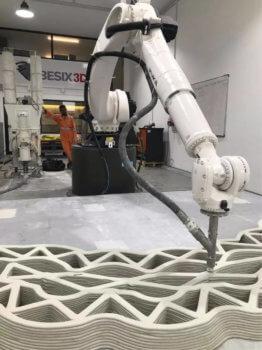 Pavillon wird mit 3D-Drucker gedruckt