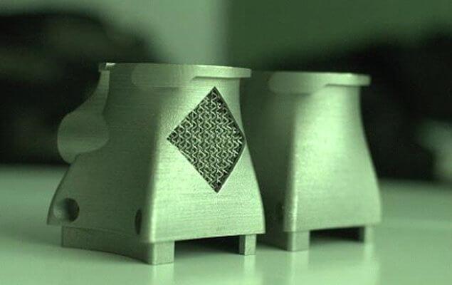 3D-gedruckte Auspuffdüsen