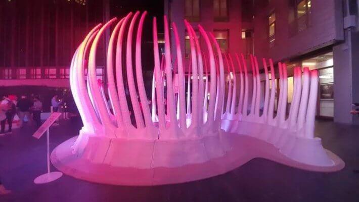 Pavillon aus 3D-Drucker