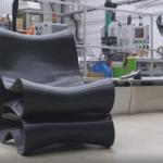 3D-gedruckter Stuhl