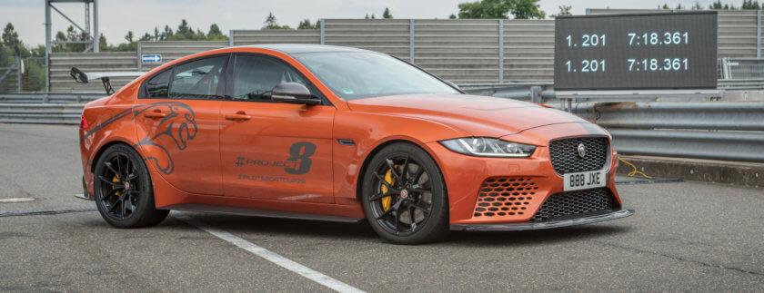 Jaguar XE SV Project 8 am Nürburgring