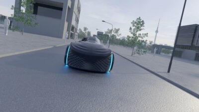 Loci 3D-gedrucktes Auto