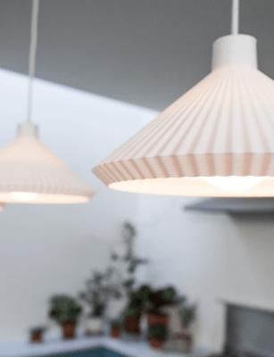 3D-gedruckte Lampenschirme