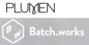 Plumen und Batch.works Logo