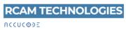 Logo RCAM Technologies und Accucode Inc.