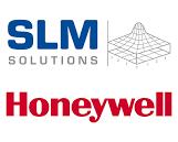 SLM Solutions und Honeywell Logo