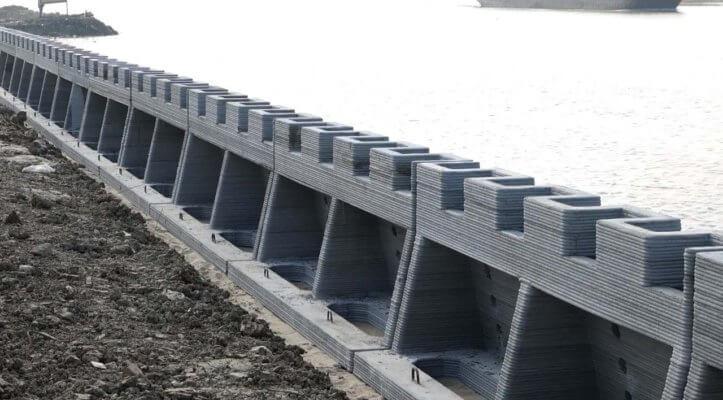 3D-gedruckte Suzhou Wall