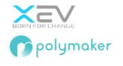 XEV und Polymaker Logo