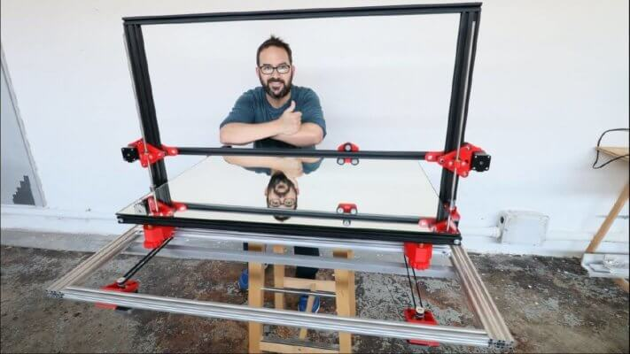 Selbst gebauter XXL-3D-Drucker