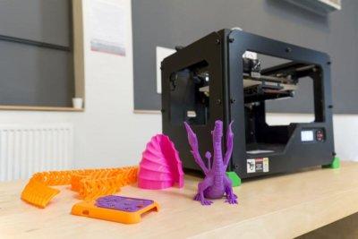3D-Drucker in der Bibliothek