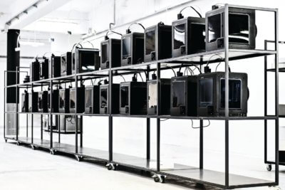 3D-Druckerfarm Zortrax