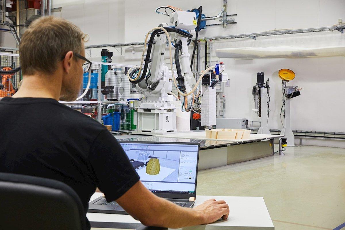 ABB Robotics integriert 3D-Druckanwendung in die Software RobotStudio als Erweiterung für sein Industrieroboter