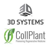 3D Systems und CollPlant Logo
