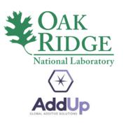 ORNL und AddUp Logo