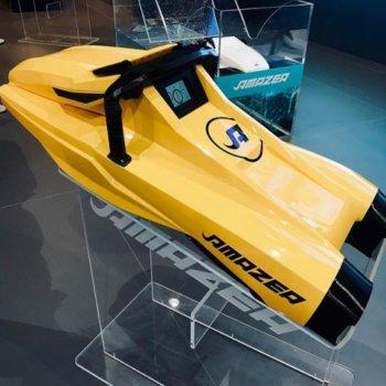 AMAZEA Unterwasserscooter in Gelb