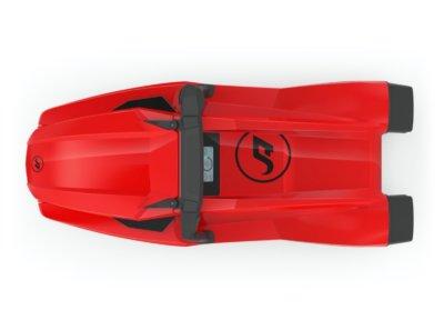 AMAZEA Unterwasserscooter in Rot