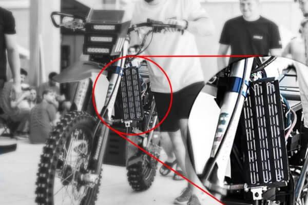 Elektrisches Motorrad aus dem 3D-Drucker