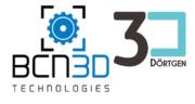 BCN3D und 3Dörtgen Logo