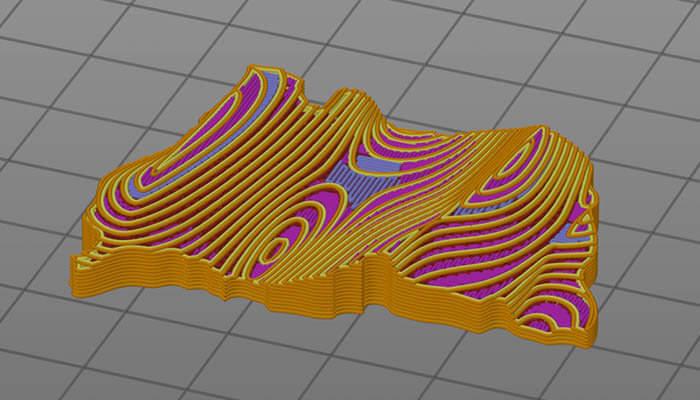 3D-Modell des Fleisches
