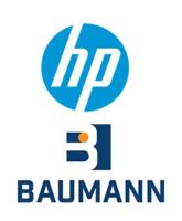 KB Baumann und HP Logo