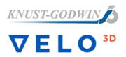 Knust-Goldwin und VELO3D Logo