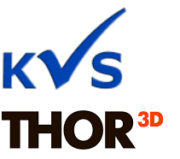 Logo KVS und Thor3D