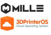 MilleBot und 3DPrinterOS Logos