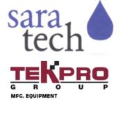 Saratech und TekPro Logo