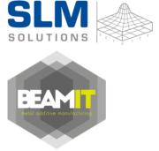 Logo SLM Solutions und BEAMIT