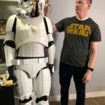 Star-Wars-Kostüm aus dem 3D-Drucker