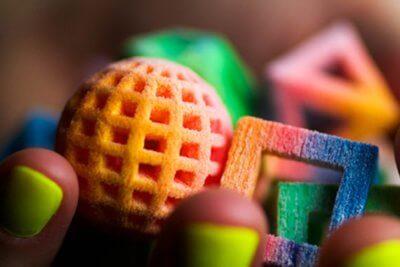3D-gedrucktes aus Zucker