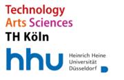 Logo der THK und der HHU