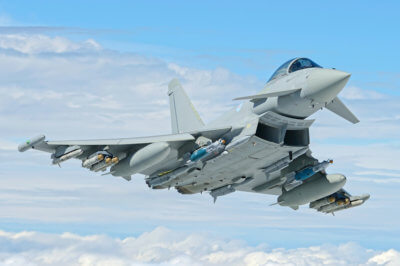 BAE Systems Typhoon Kampfflugzeug